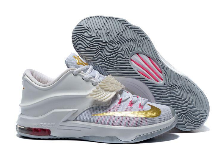 Nike-KD-7-Aunt-Pearl-White-Metallic-Gold-