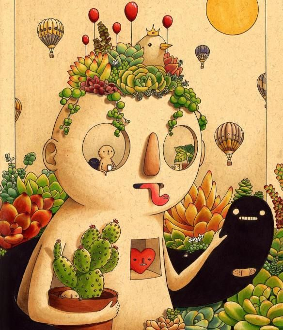 Felicia Chiao's Vibrant, Fantastical Illustrations