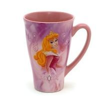 Disney Store Sleeping Beauty Ceramic Coffee Tea Mug Cup Princess Aurora  New #disneycoffeemugs