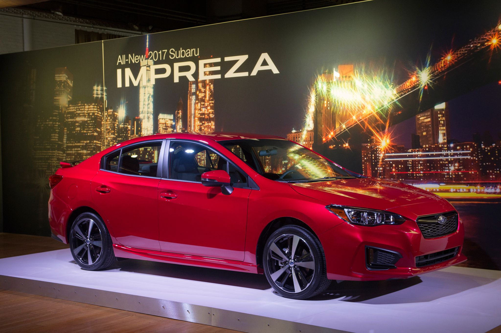 All New 2017 Subaru Impreza Bows In New York. Fresh Look And New Platform