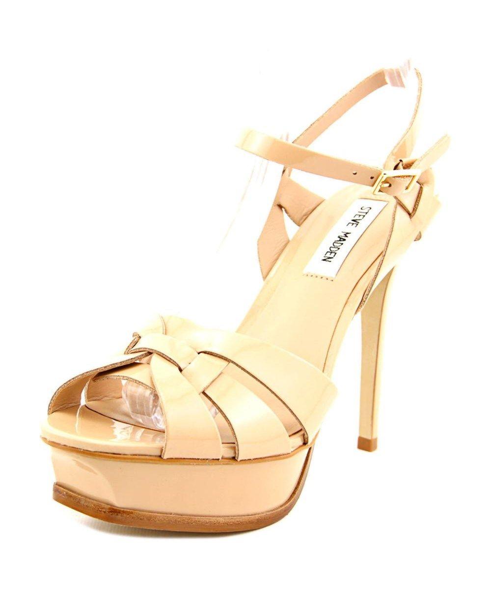 d722c83b10d STEVE MADDEN Steve Madden Kananda Open Toe Patent Leather Platform Sandal .   stevemadden  shoes  pumps   high heels