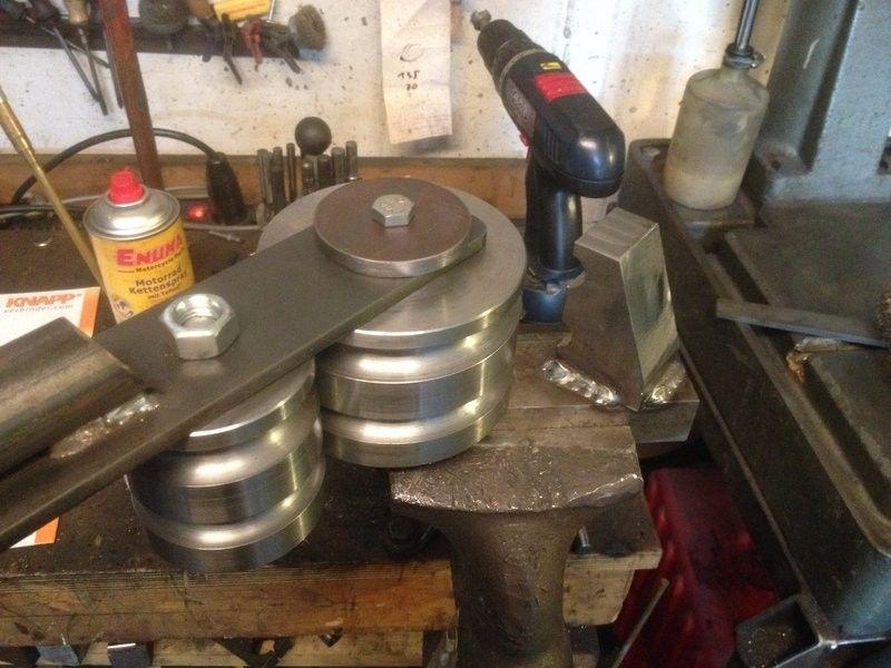 Hydraulic tubing bender by steinbruchsoldat homemade