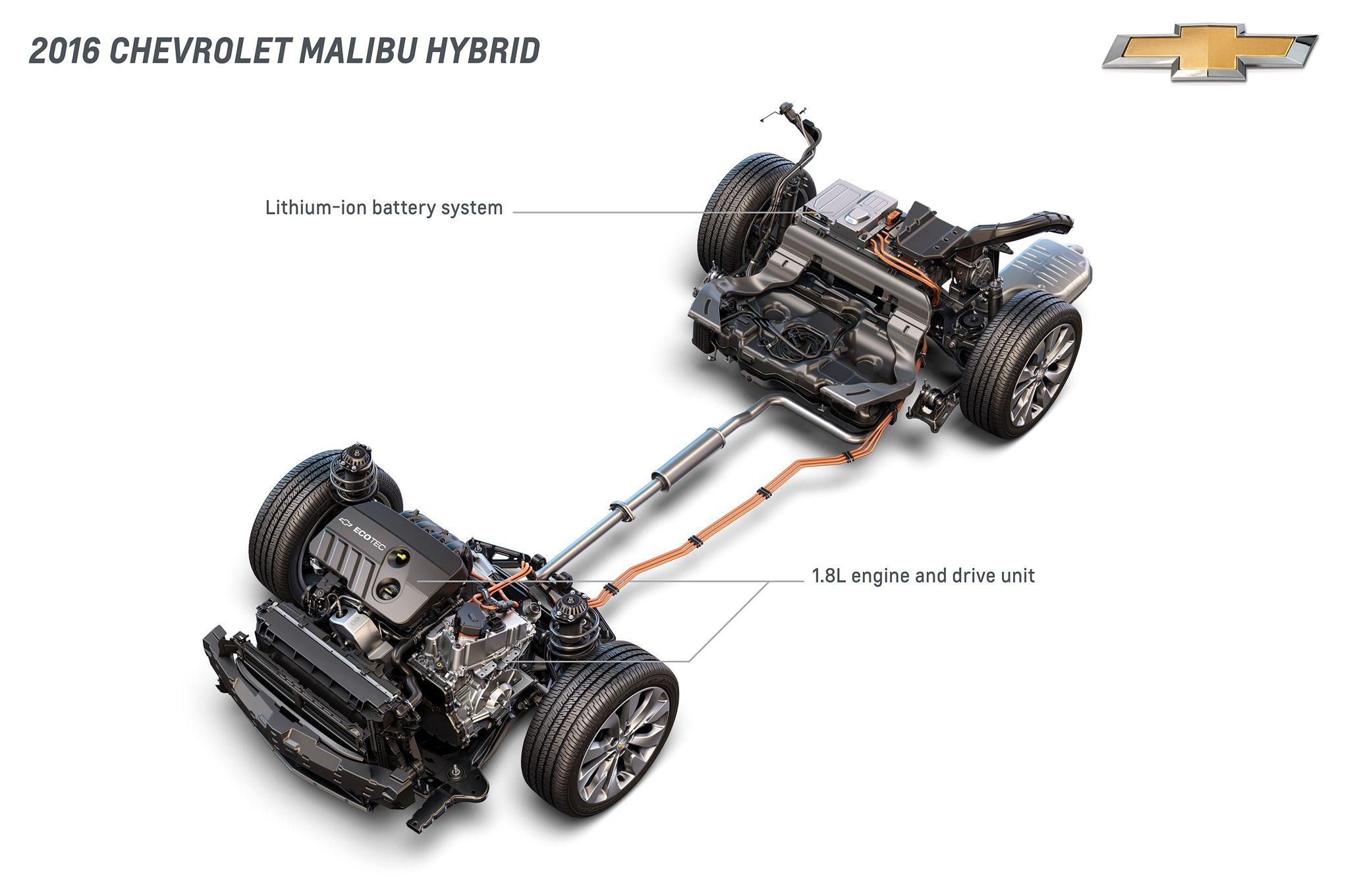2016 Chevrolet Malibu Hybrid Comes To New York Estimated At 45 Mpg Chevrolet Malibu Malibu Hybrid Chevy Malibu Hybrid