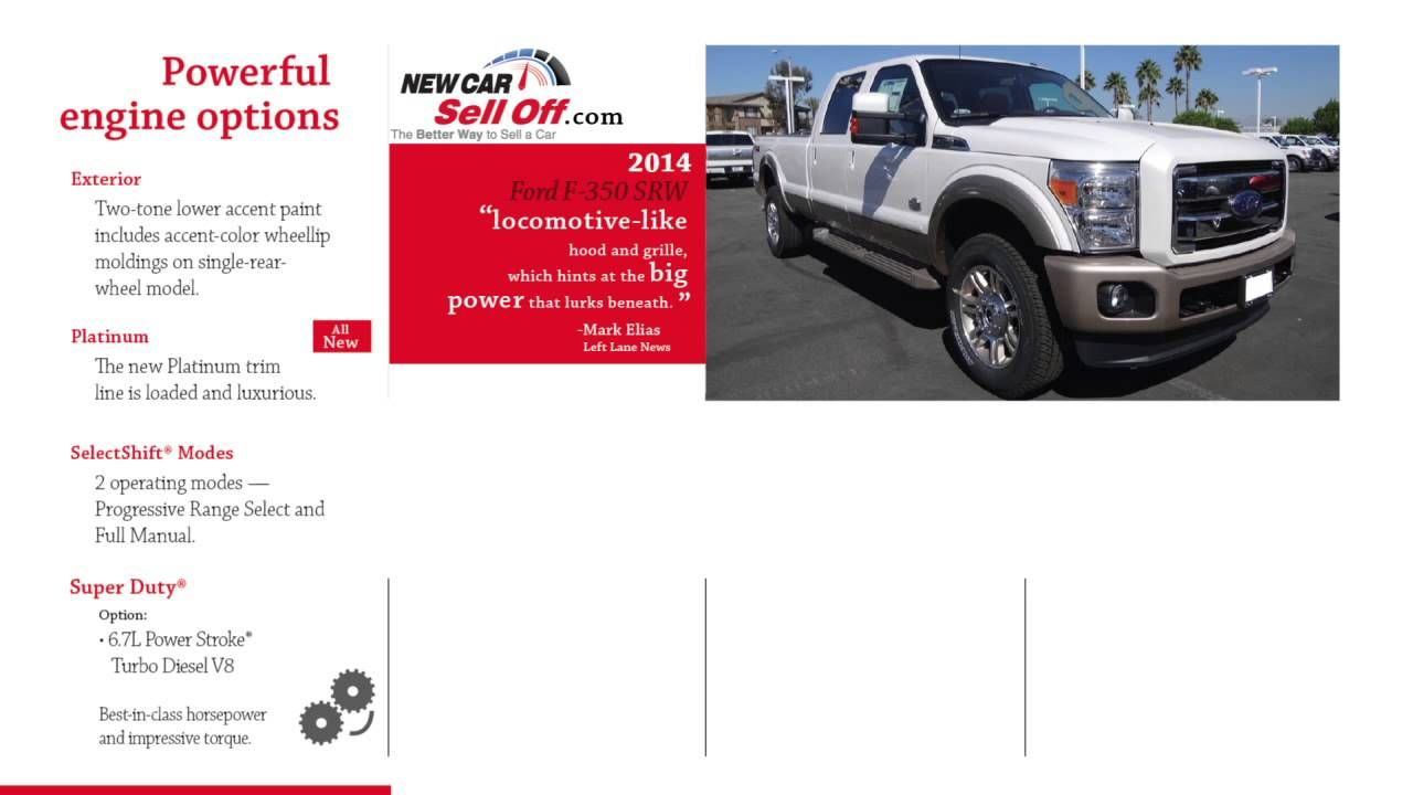 2014 Ford F350 Srw Super Duty Feature And Review Ford F350 F350