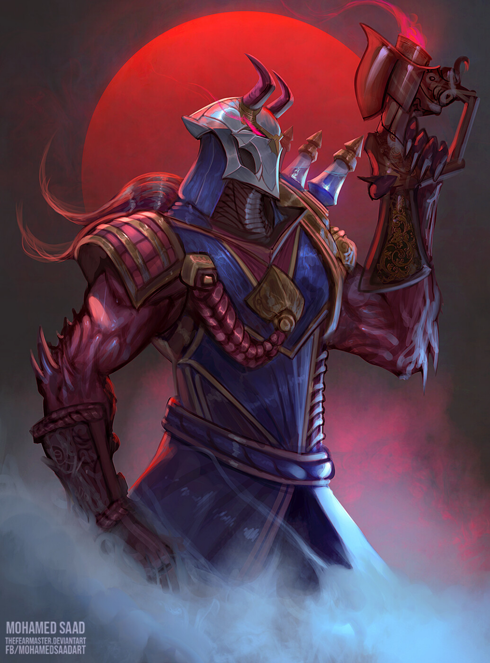 Artstation The Virtuoso Of The Bloodmoon Mohamed Saad Champions League Of Legends League Of Legends Jhin Lol League Of Legends