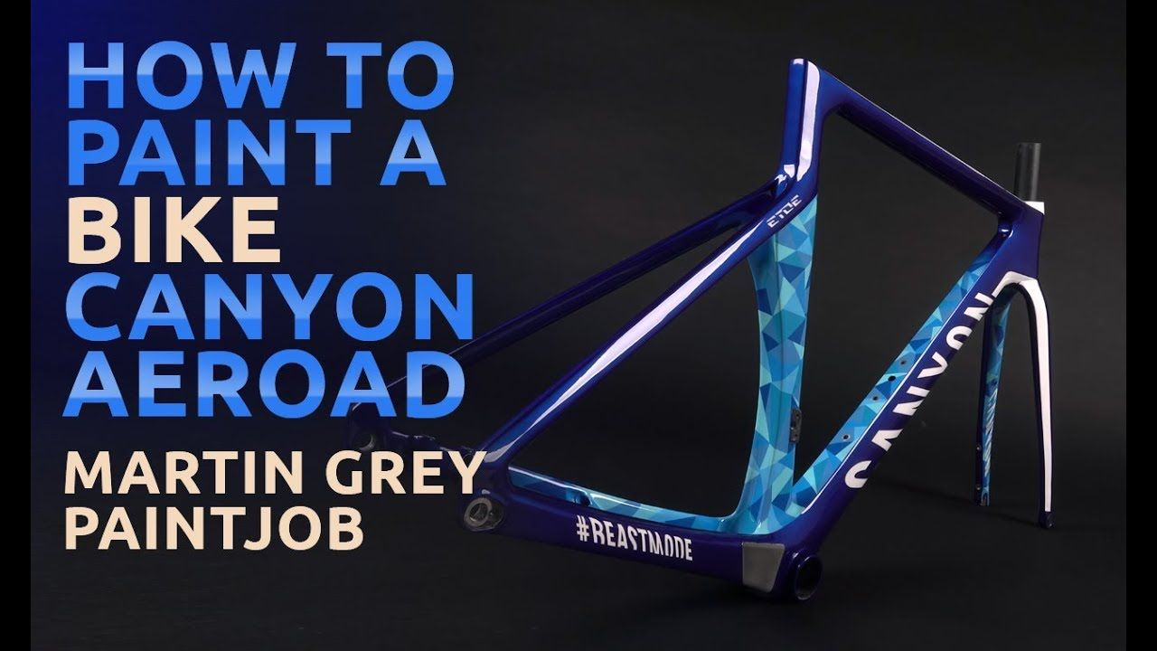 How To Paint A Bike Canyon Aeroad With Etoe Design Painted By