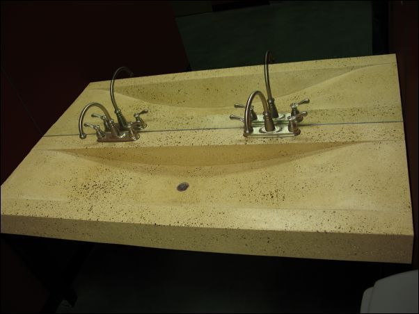 Incroyable Trough Sink For Bathroom, Custom Commercial Trough Sinks, Bath Room Console  Sink, Concrete Vanities Manufacturer   Eko.