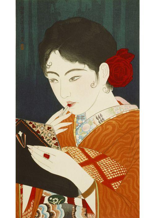 Kobayakawa Kiyoshi, Lipstick, 1931