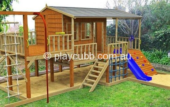 Diy Cubby Houses Monster Pak Playground Cubby House