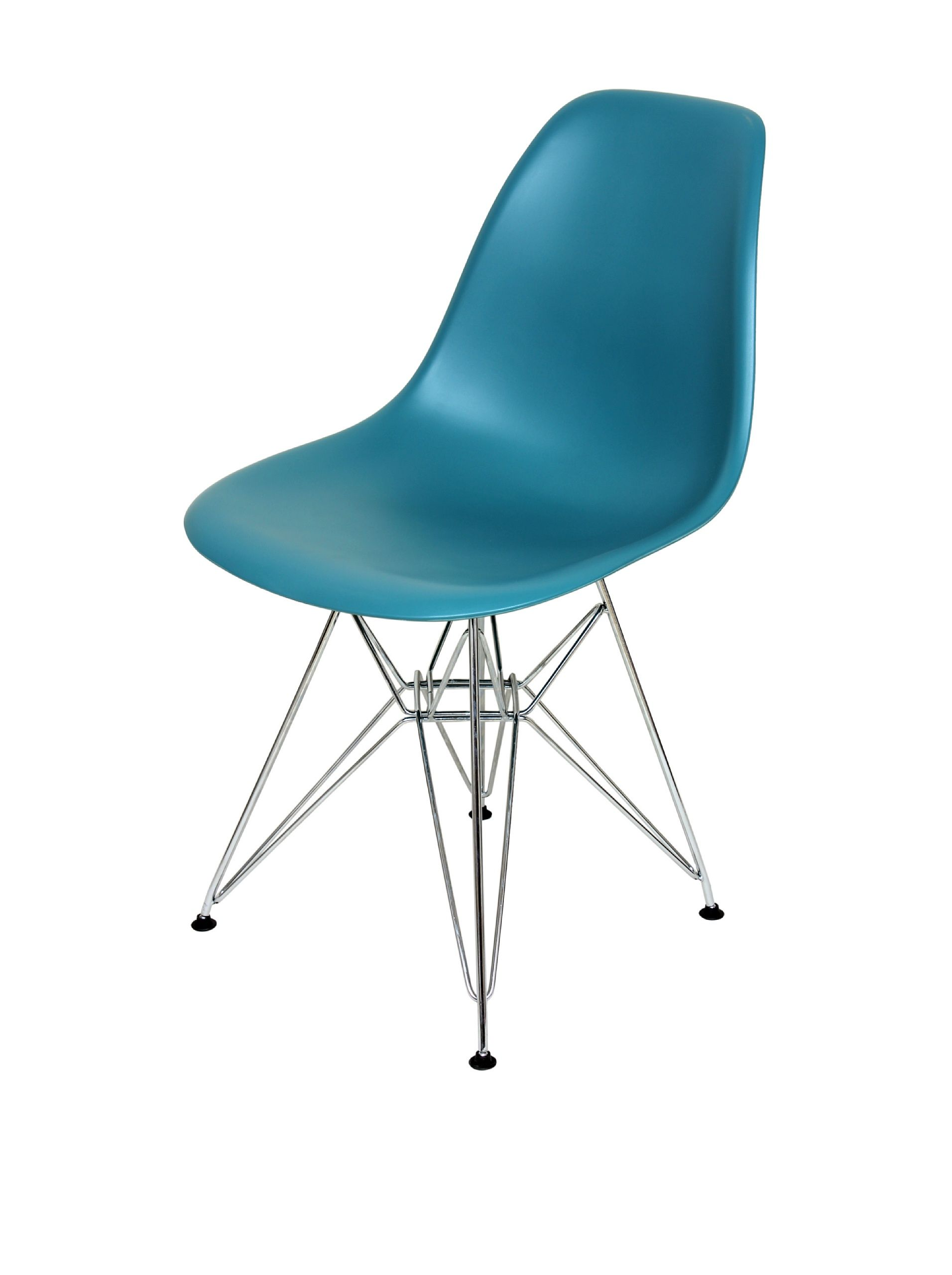 Control Brand Mid-Century-Inspired X-Leg Dining Chair, Turquoise at MYHABIT