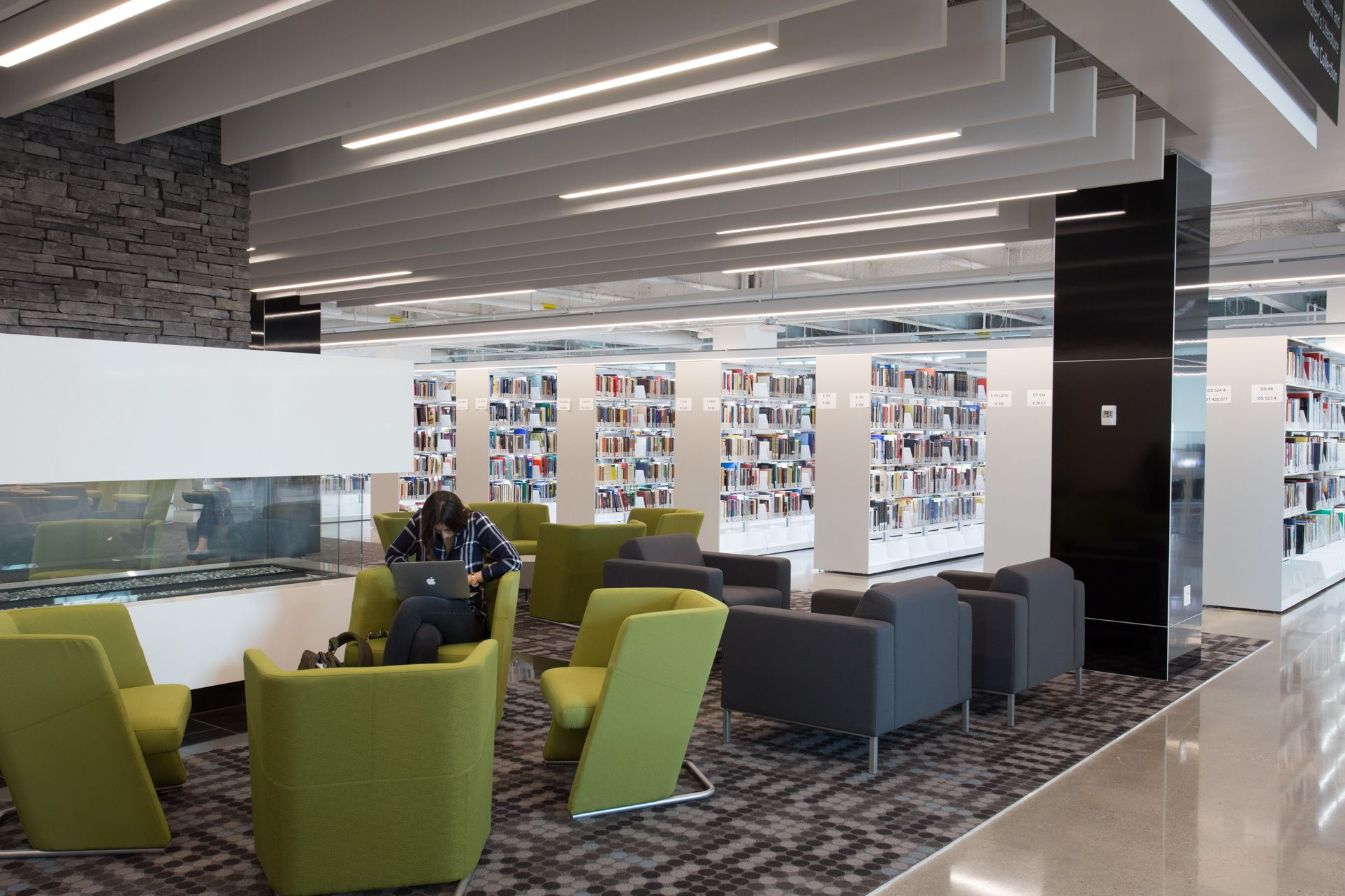 Case Study Undergraduate Library Design With Images Library
