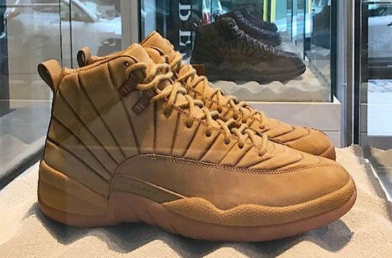 new concept 28d1a e31a8 There s A Wheat Colorway Of The PSNY x Air Jordan 12