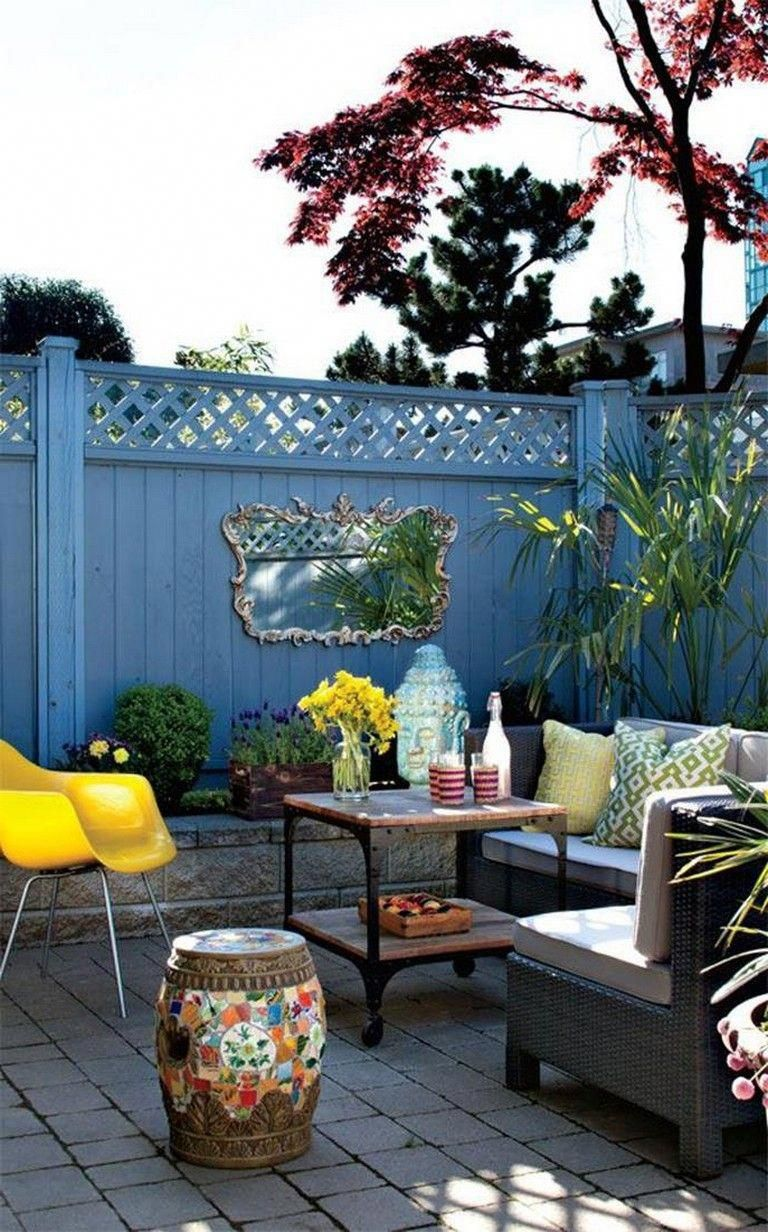 35 fabulous small outdoor patio decorating ideas on a budget rh br pinterest com