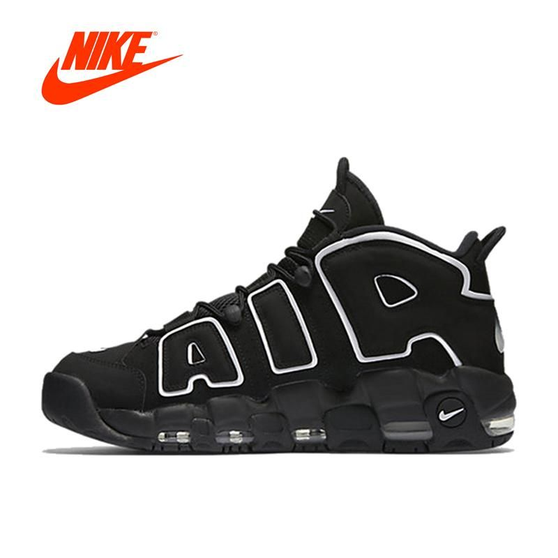 f14082455762 New Arrival Authentic Nike Air More Uptempo Men s Breathable Basketball  Shoes Sports Sneakers