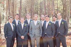 Grey Tuxedo Wedding Party Google Search