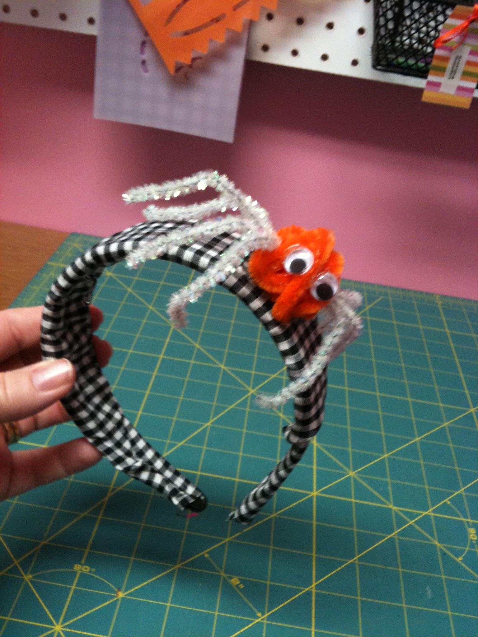 Easy Spider Craft