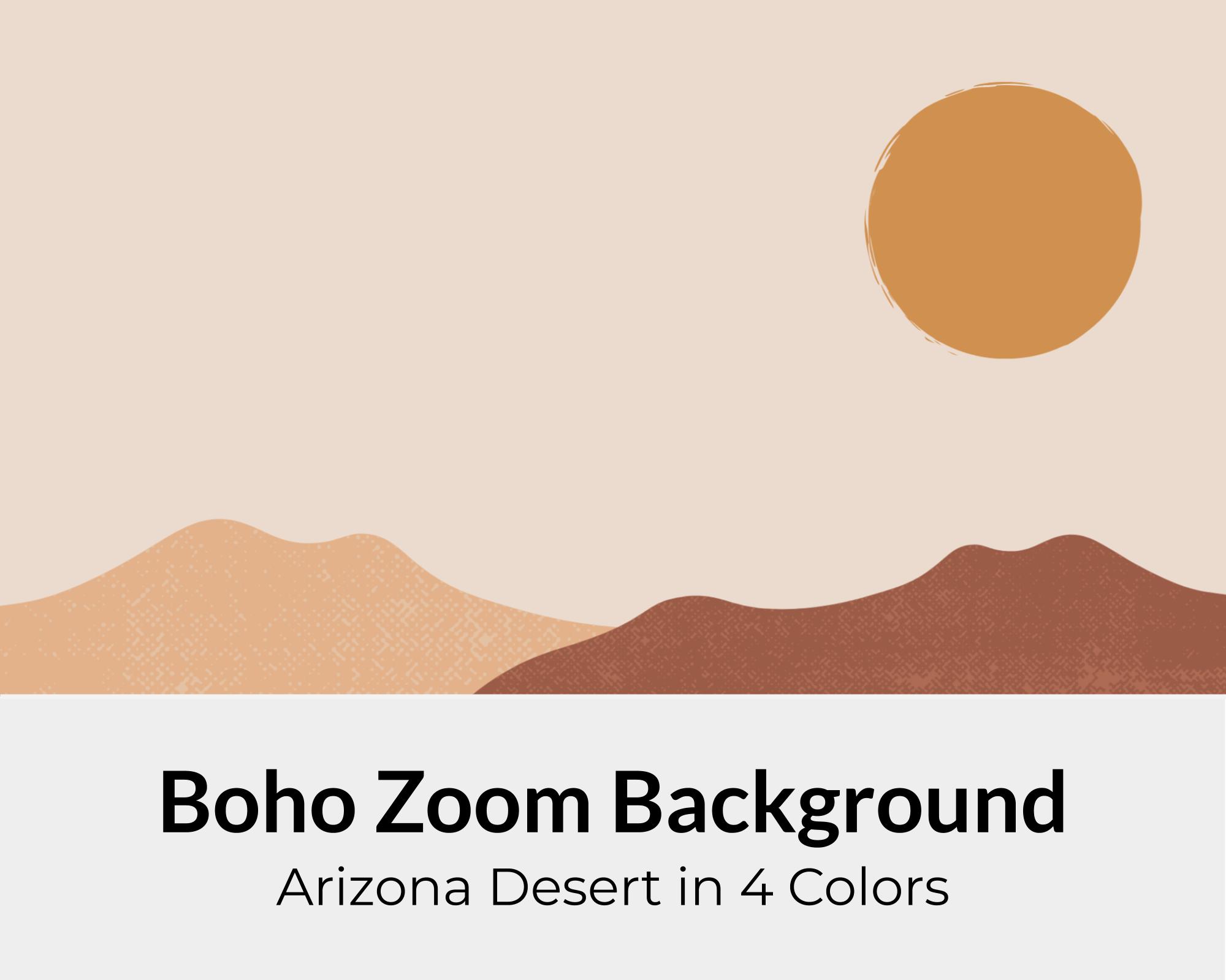 Boho Zoom Background Pack For Online Meetings Virtual Background Simple Zoom Background Background Animals For Kids Boho