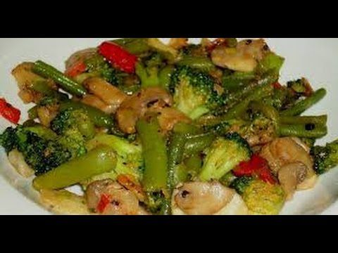 Receta Saludable Salteado De Verduras Hogar Tv Por Juan Gonzalo Angel Verduras Salteadas Verduras Comida Saludable Ensaladas
