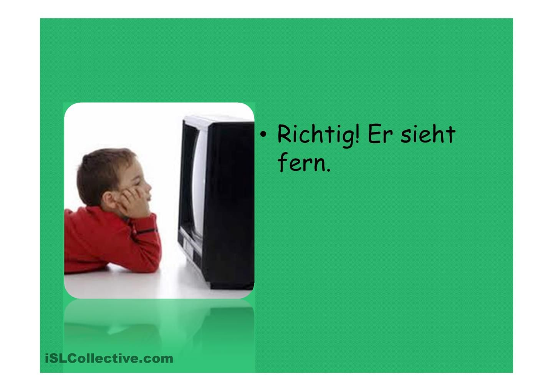 Unregelmaessige Verben | verbs | Pinterest
