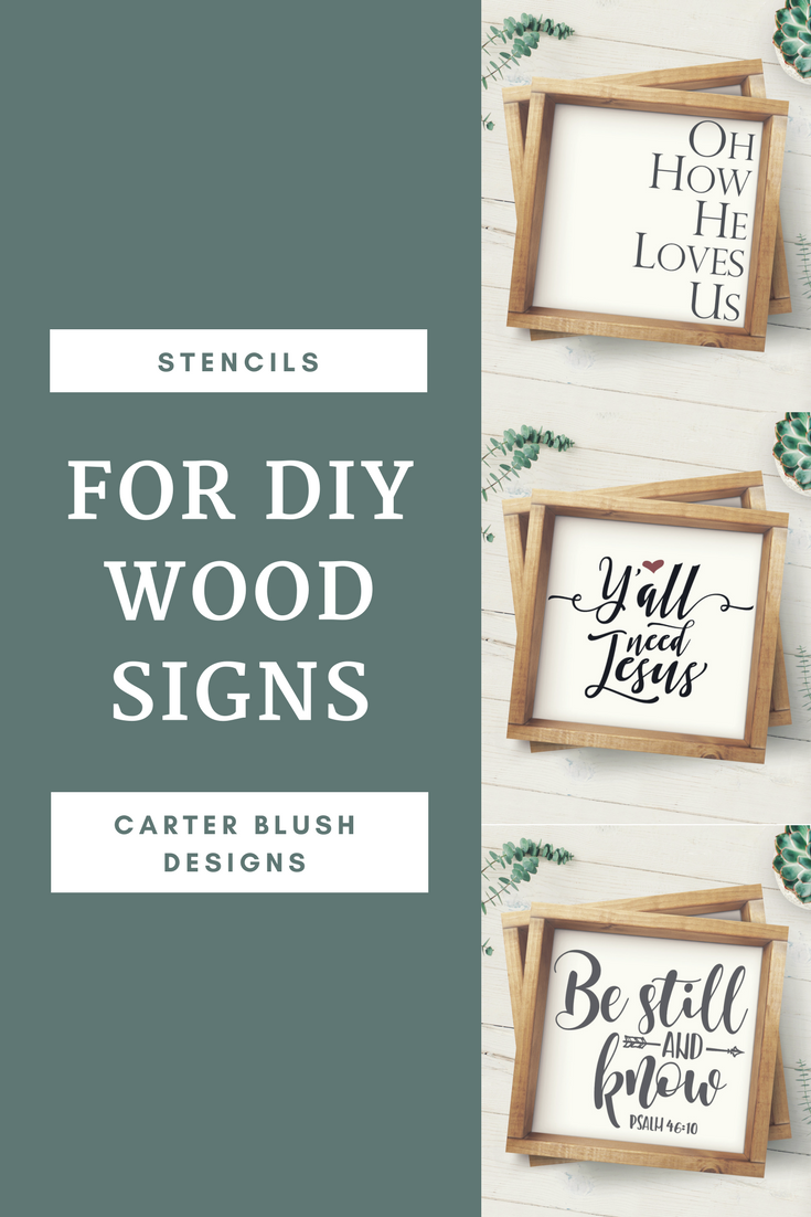 The Easy Way Make Your Own Wood Sign Diy Stencils