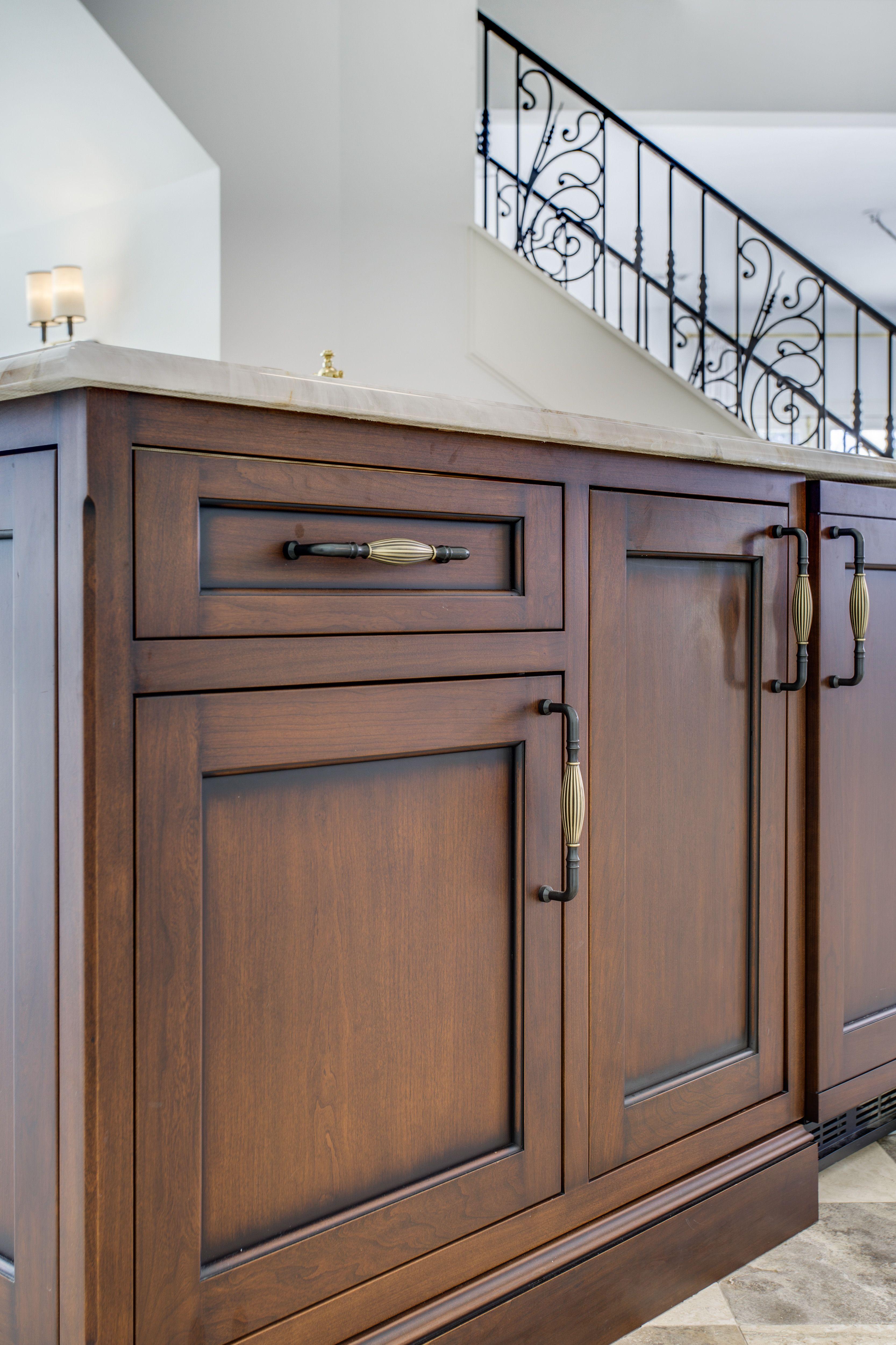 Top Knobs Dark Antique Brass Tuscany Pull, Kitchen Hardware Design Idea,  Brass Trend,