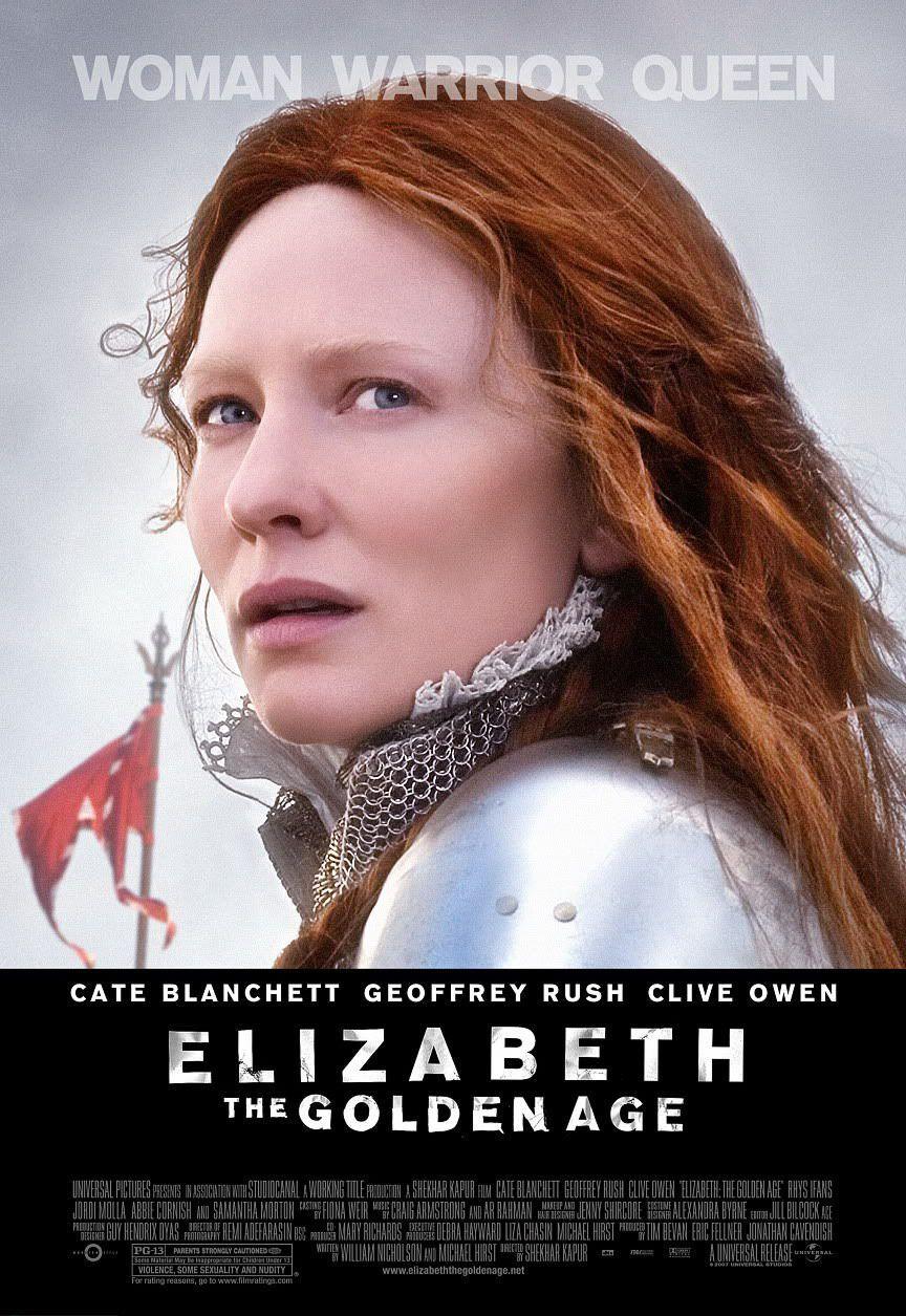 Elizabeth The Golden Age Starring Cate Blanchett Filmes Clive