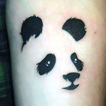 cdc833018 Panda Face Outline Tattoo Idea Panda Bear Tattoos, Face Outline, Tattoo  Outline, Panda. Read it