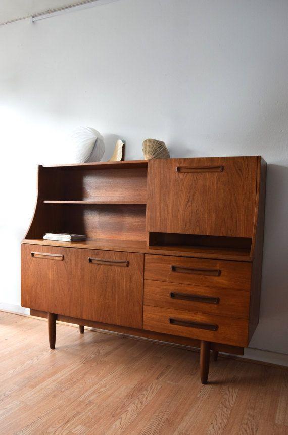 Retro Vintage Mid Century Highboard Sideboard 1960s 1970s Retro Vintage Sideboard Unwanted Furniture Retro Sideboard