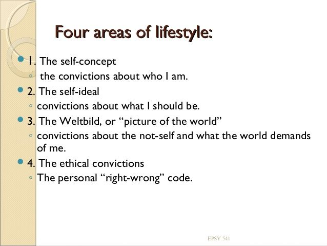 adlerian lifestyle assessment