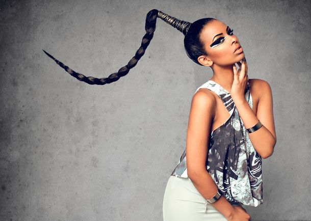 Abdf79410933219a897929fc184786e3 Jpg 610 434 Couture Hairstyles Egyptian Hairstyles High Ponytail Hairstyles