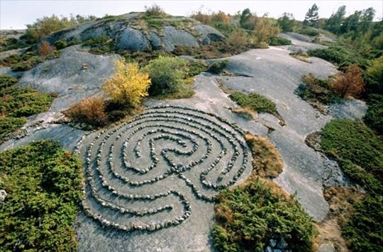 Labirintos de pedra -  Suécia