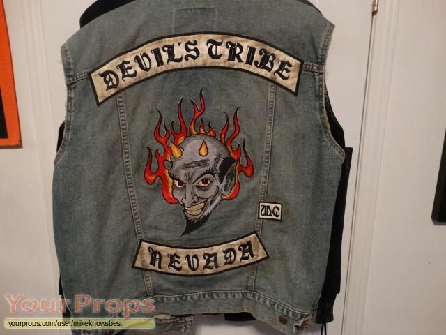 Sons Of Anarchy Screen Used Biker Vest Original Tv Series Costume Biker Vest Sons Of Anarchy Vest Vest