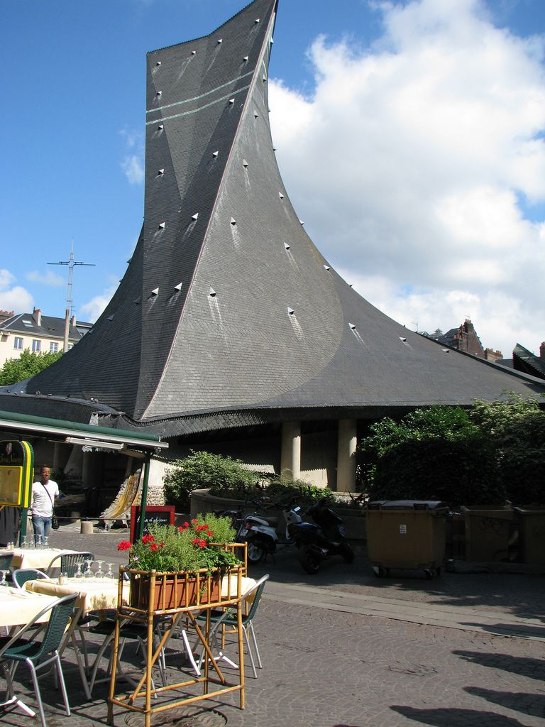 St Joan of Arc's church Rouen, France