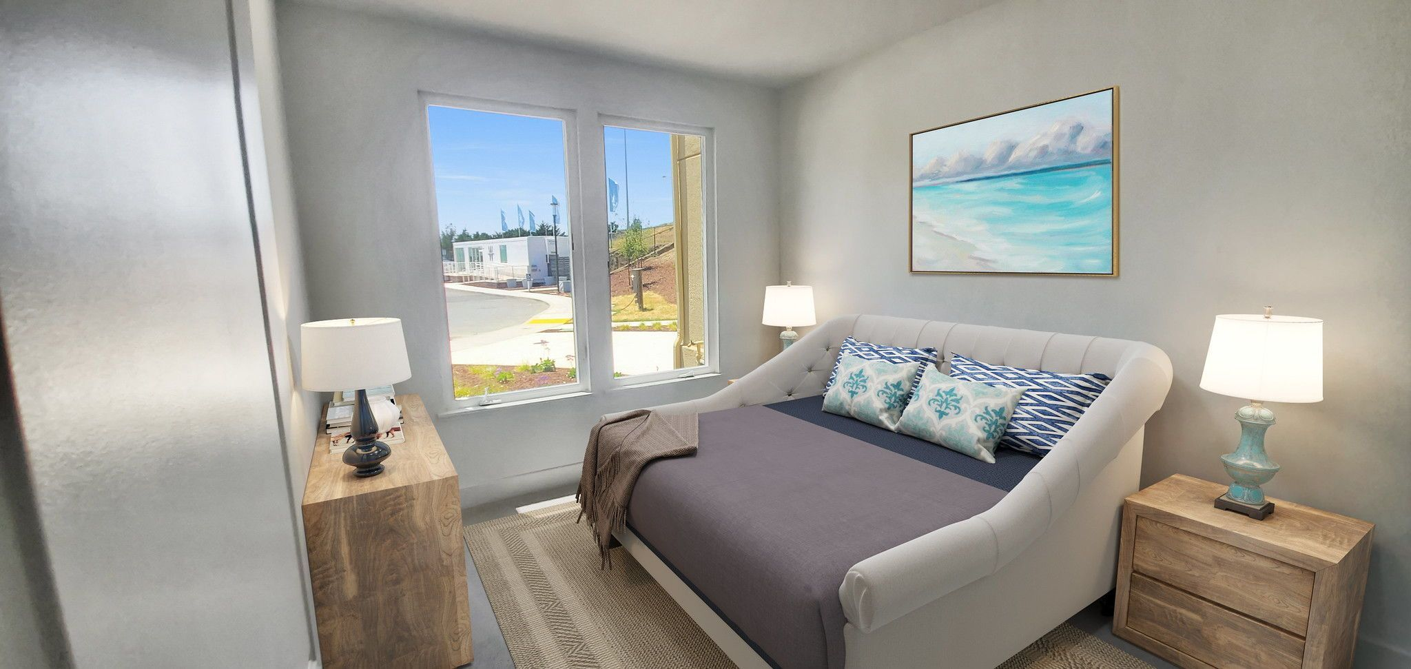 Waterline in Point Richmond, CA by Shea Homes | Residence 4 Bedroom  #SheaHomes #SheaHomesNorCal #SheaHomeowners #SheaNorCal #LiveTheSheaDifference #NorCalHomes #NorCalRealEstate #BayAreaRealEstate #BayAreaNewHomes #HomeDesignInspiration #HomeInspiration #Waterline #PointRichmond Sales: Shea Homes Marketing Company (CalDRE #01378646); Construction: Shea Homes Limited Partnership (CSLB #855368). Equal Housing Opportunity.