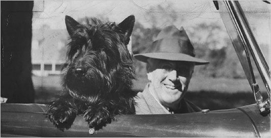 Prezydent Roosevelt i Fala