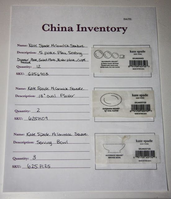 China Inventory { Free Printable } Free printable and Binder - sign up sheet template excel