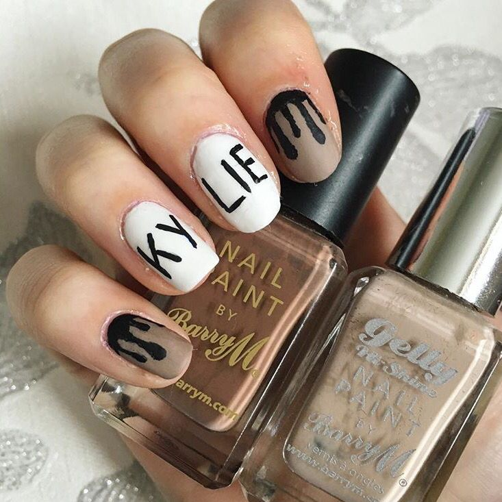 Kylie jenner lip kit nail art inspired by dolce k nail art kylie jenner lip kit nail art inspired by dolce k prinsesfo Image collections