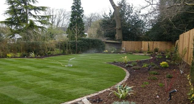 origin garden construction ltd nt oval grsmatta pinterest lawn gardens and garden ideas