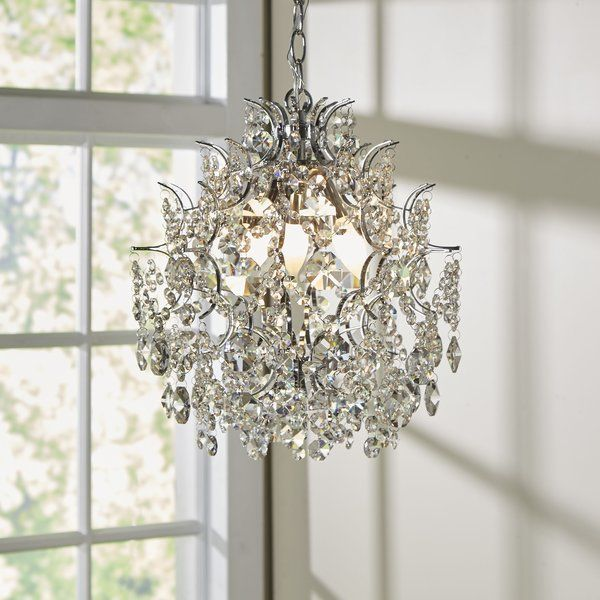 Youll love the clea 3 light crystal chandelier at birch lane with