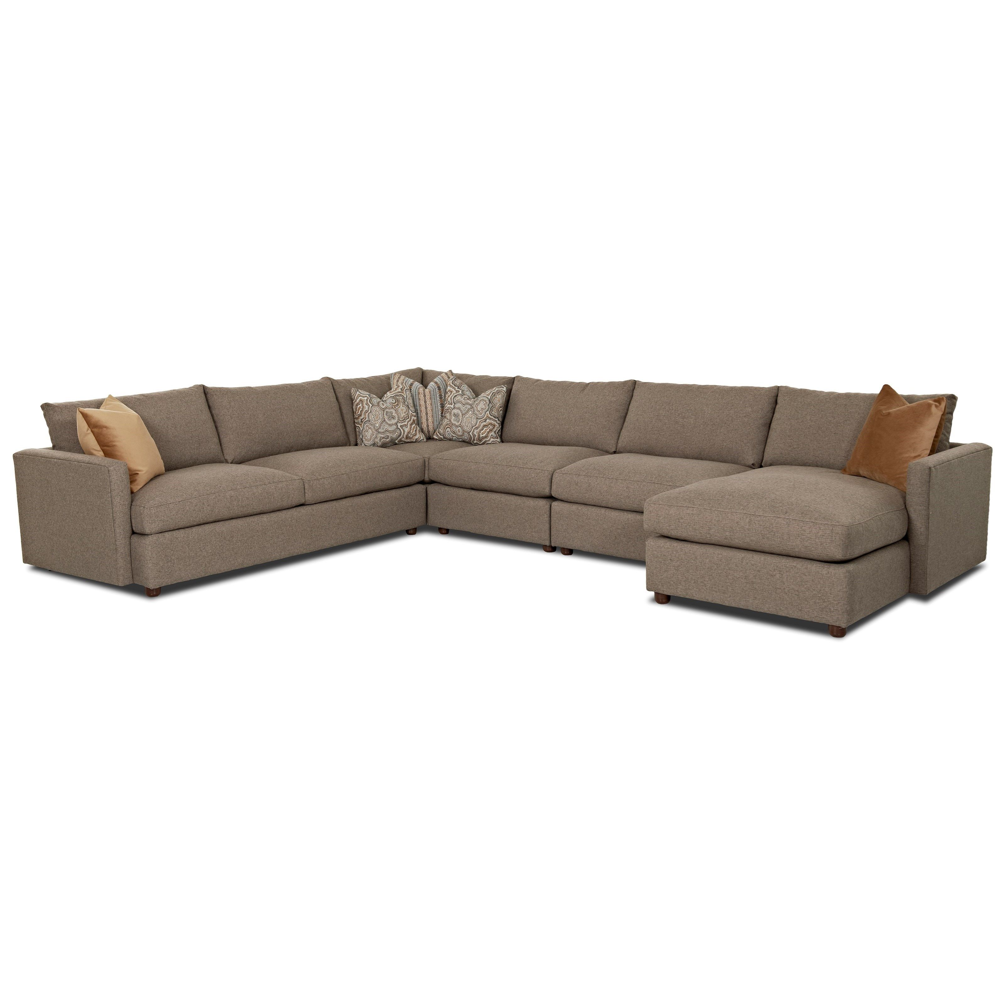 Leisure Sectional Sofa by Klaussner Sun Room