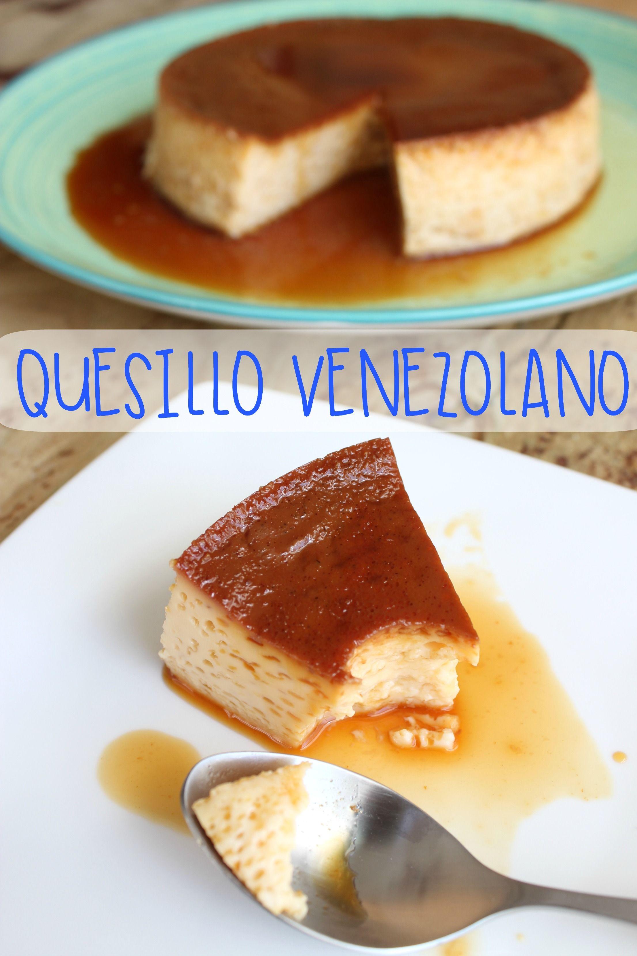 Receta de quesillo venezolano tradicional recipe recetas for Cocina venezolana