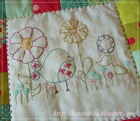 Môj ružový vesmír...: Birdie Stitches