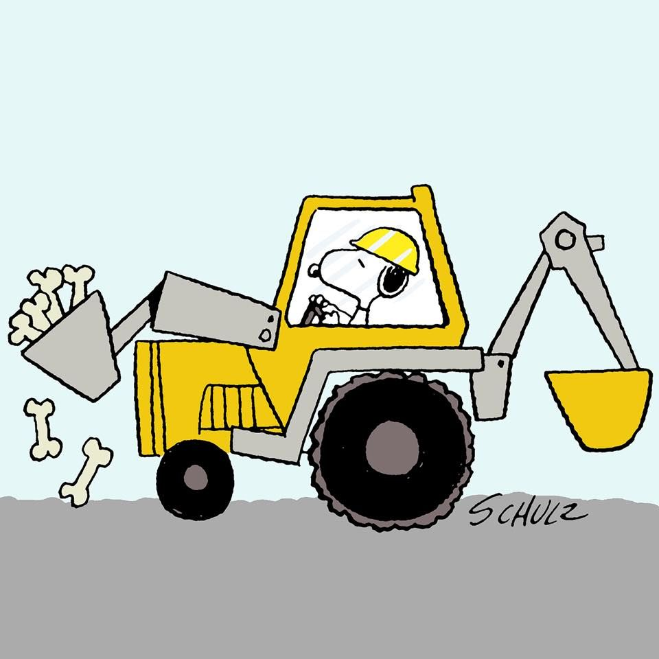 Snoopy On The Job