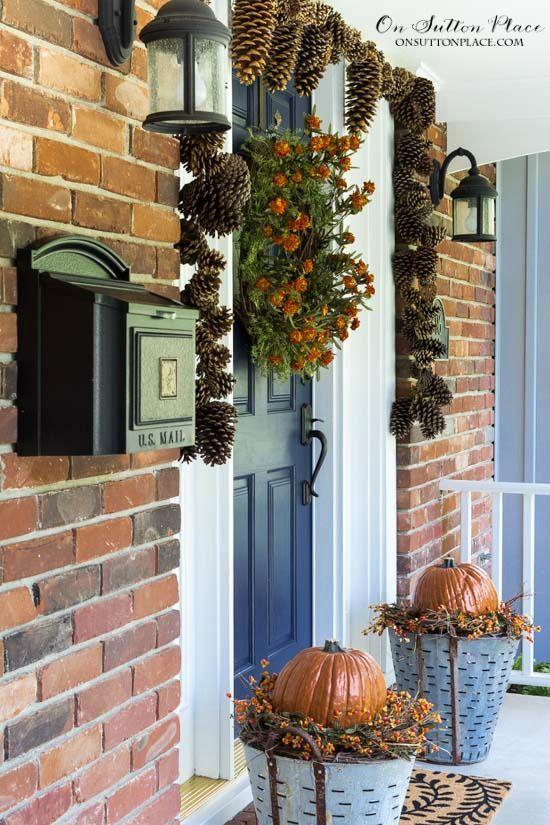 Fall Front Porch Decor Ideas Tips