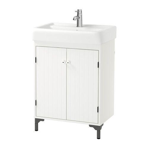 SILVERÅN / HAMNVIKEN Allaskaappi 2 ovea - valkoinen - IKEA