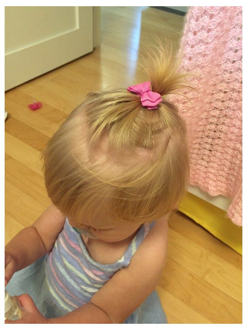15 Easy Hairstyles for Little Girls who don't have a lot of hair ...