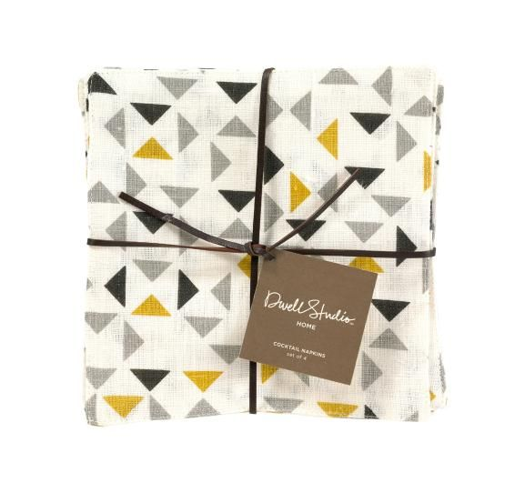 Mosaic Sun Cocktail Napkins (set of 4): from Dwell Studio
