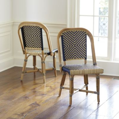 Paris Bistro Chairs - Set of 2 | Bistro chairs, Dining and Kitchens