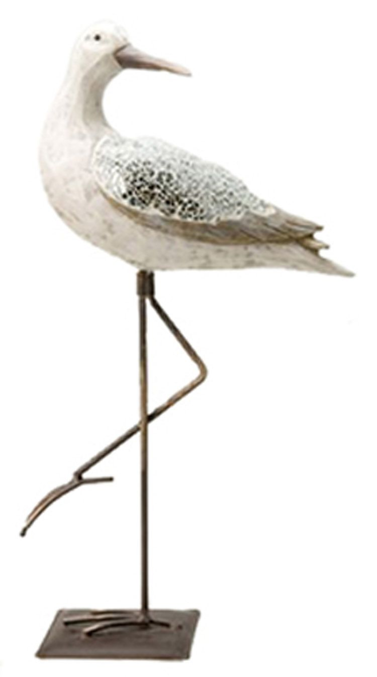 DETAILED GREAT BIRD DECOR NAUTICAL SEA BIRD SCULPTURE My