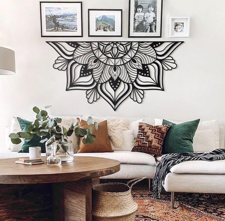24 Coole wohnzimmer deko wand